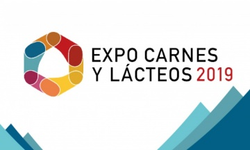 Logo of the Expocarnes y Lácteos trade fair, the most important meat and dairy fair in Mexico and Latin America.